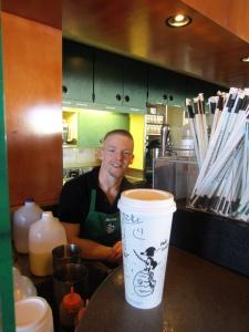 nOlan - master barista, musician & snOOpy artist