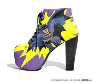 hOly high heels, Batman!