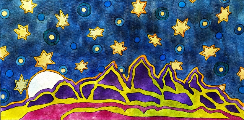 Starry Starry Night - sold